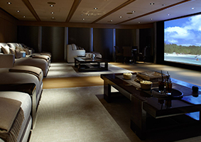 modart basement home-theater