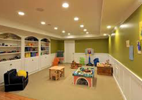 modart basement play-room